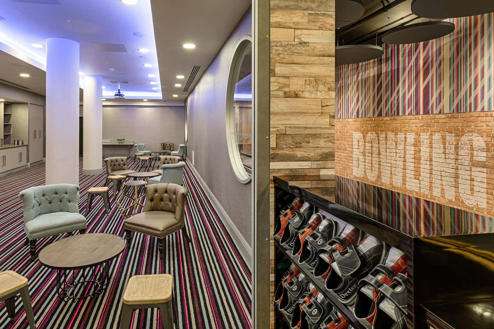 Bowling Alley At Courthouse Hotel Shoreditch A Shoreditch Bowling Alley For Hire From Headbox