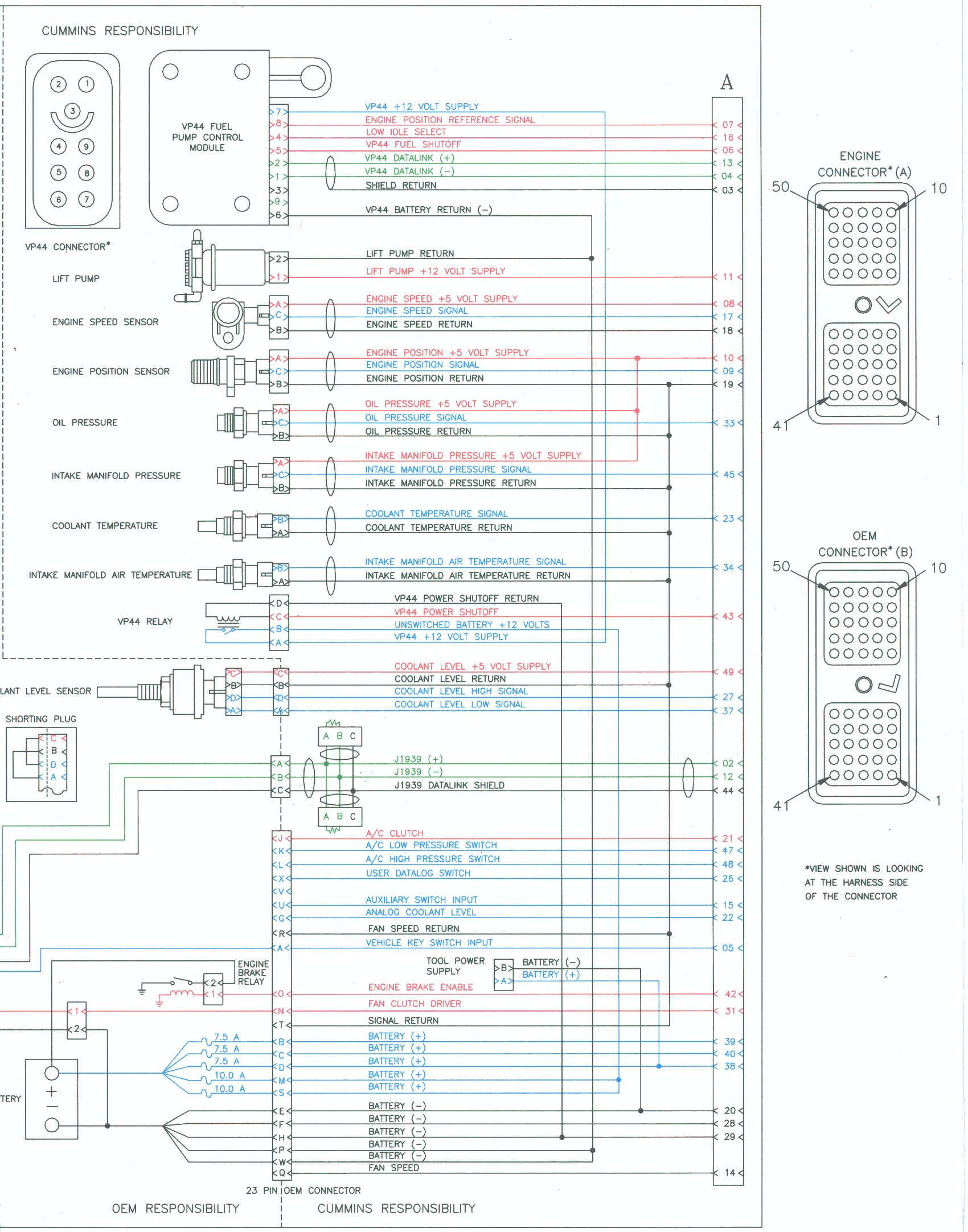 dodge ram wiring diagram 2005 redarc bcdc charger trailer 2001 cummins library