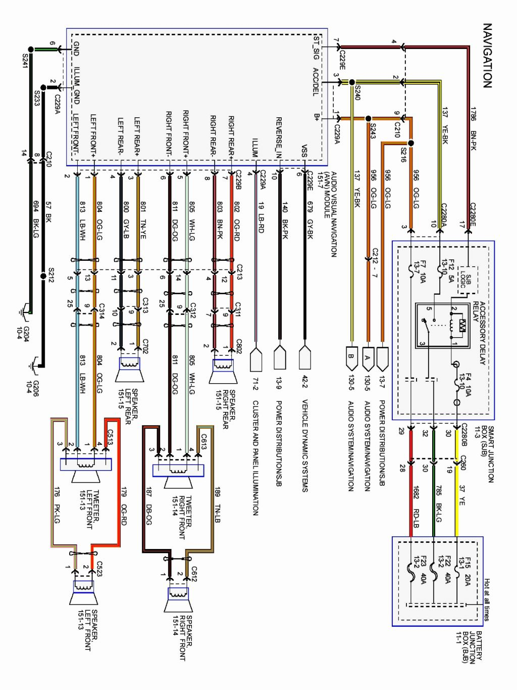 ford explorer 2006 radio wiring diagram what is a number line 2011 escape collection