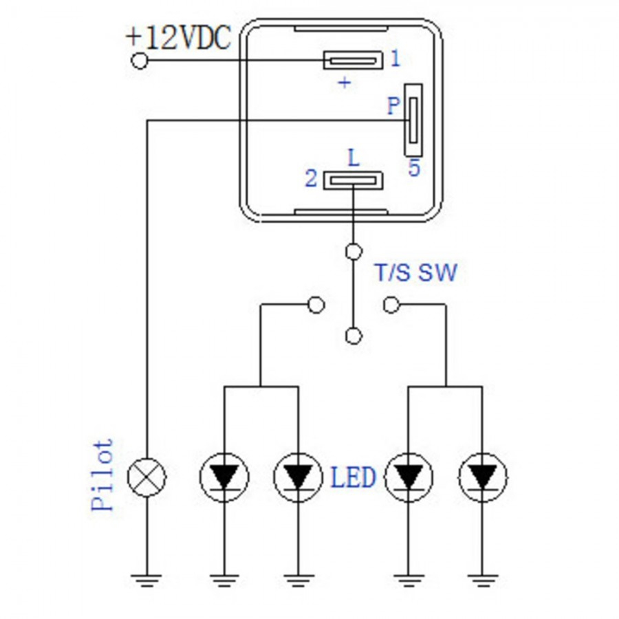 Led Flasher Relay Wiring Wiring Diagrams The