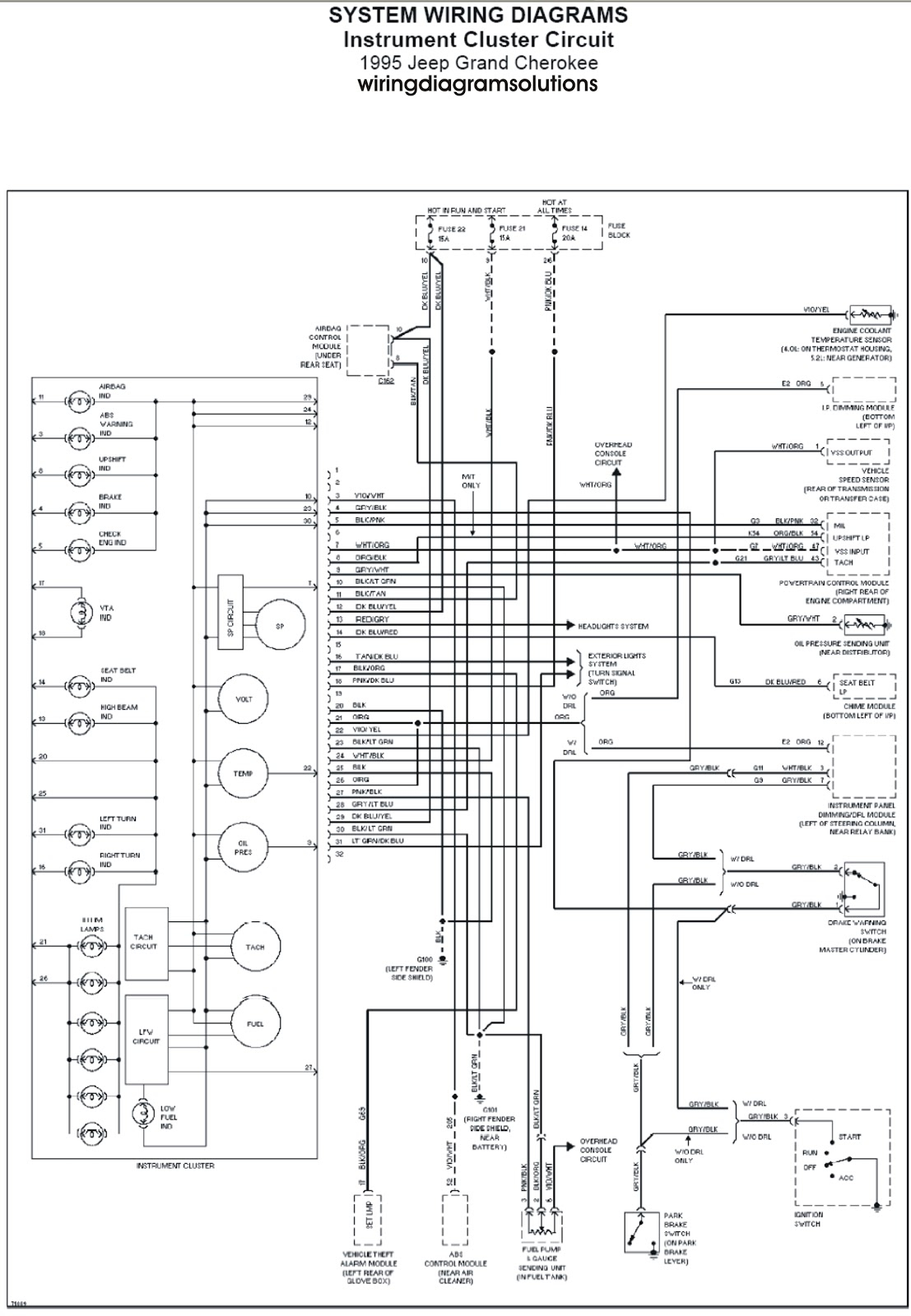 infinity harness wiring diagram