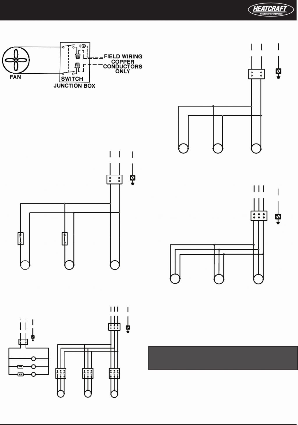 bohn let0901f wiring diagram