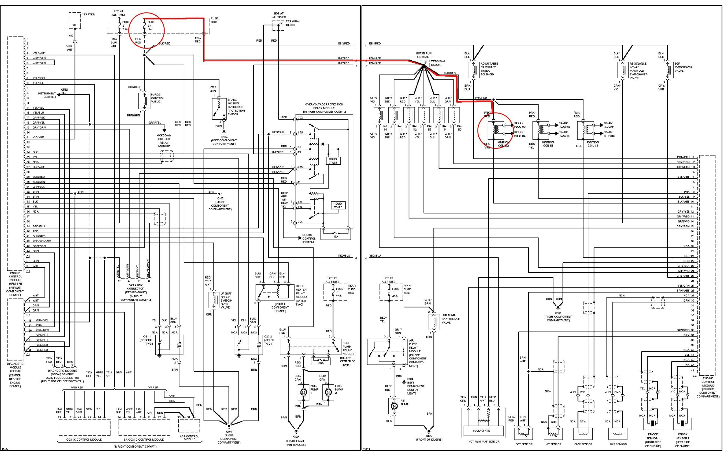 Mercedes Benz S500 Fuse Box Diagram