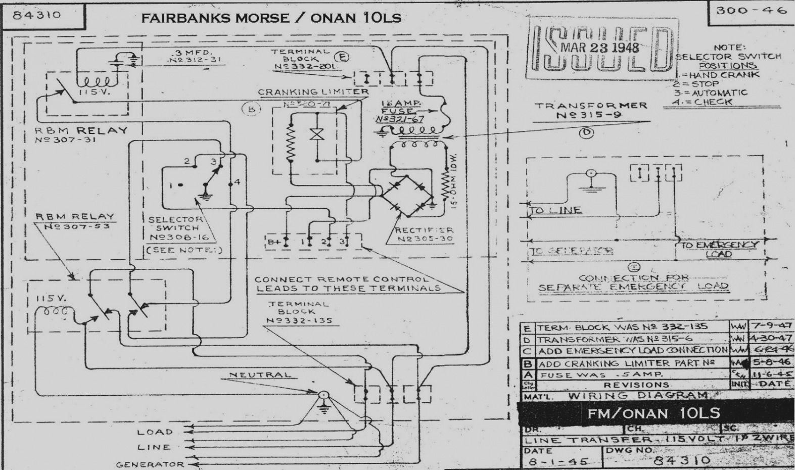 generator control panel wiring diagram 2000 jeep cherokee xj stereo olympian 4001e collection