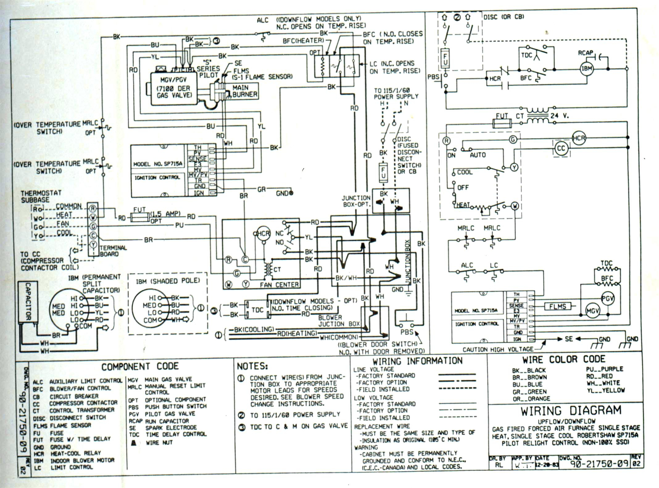 trane air conditioner wiring diagram gibson sg furnace sample collection
