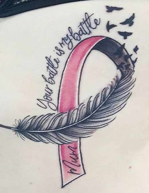 Breast Cancer Tattoo Images : breast, cancer, tattoo, images, Breast, Cancer, Tattoos, Ideas, Photos