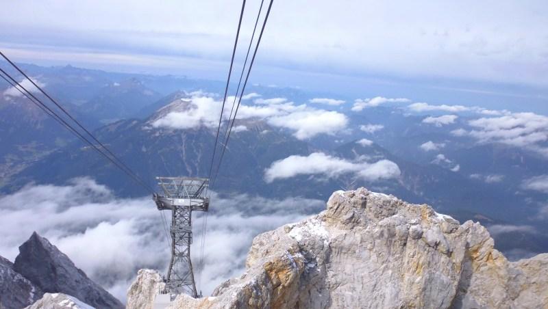 zugspitze - Niemcy - piękne góry