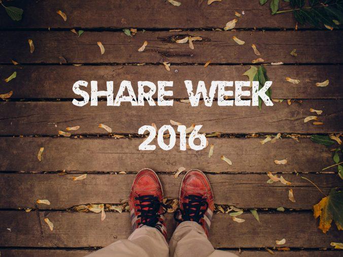 Share week - lista ulubionych blogów - grafika