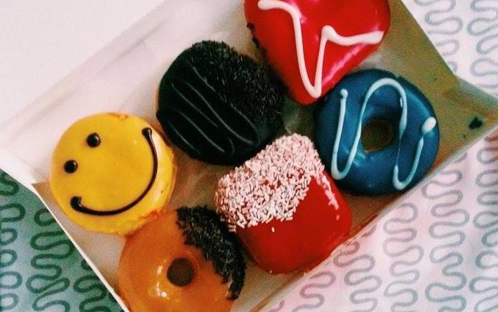pączki dunkin donuts - migawki z Warszawy