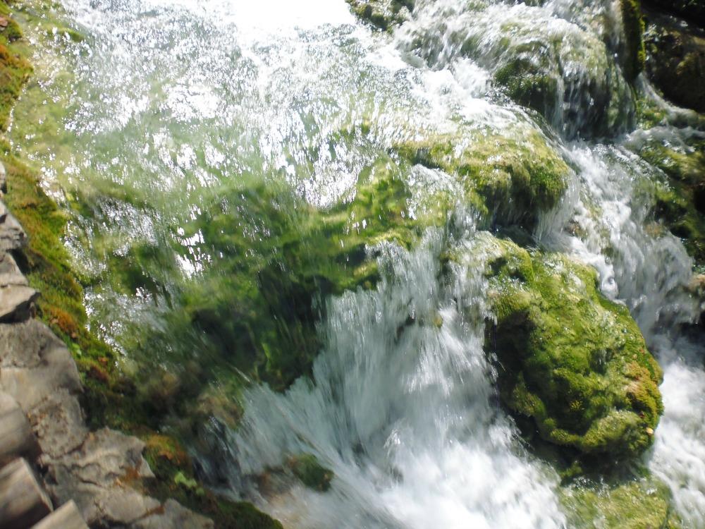 Jeziora Plitwickie - wodospady w Parku Narodowym Jezior Plitwickich