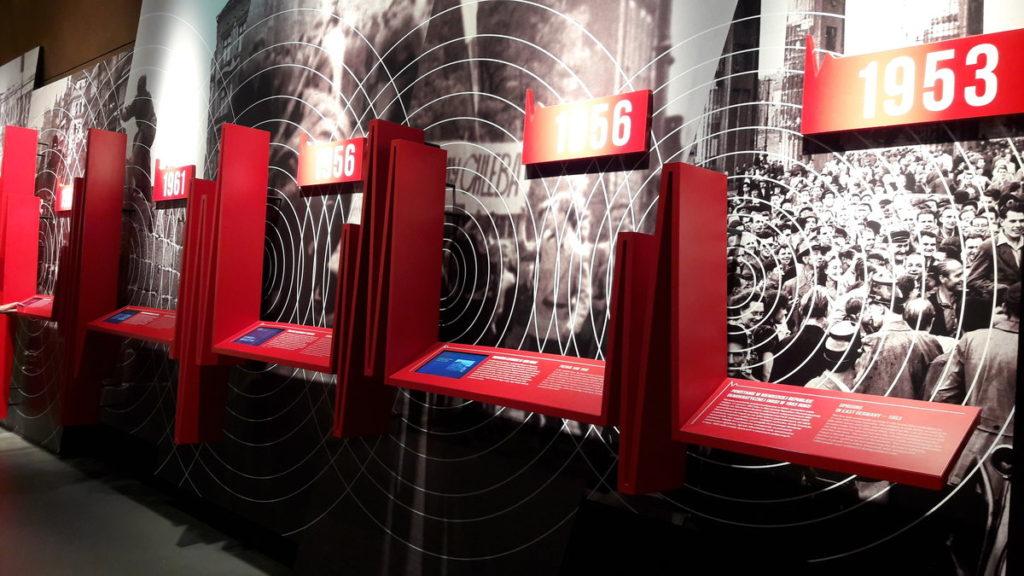 sejsmograf komunizmu w Europejskim Centrum Solidarności