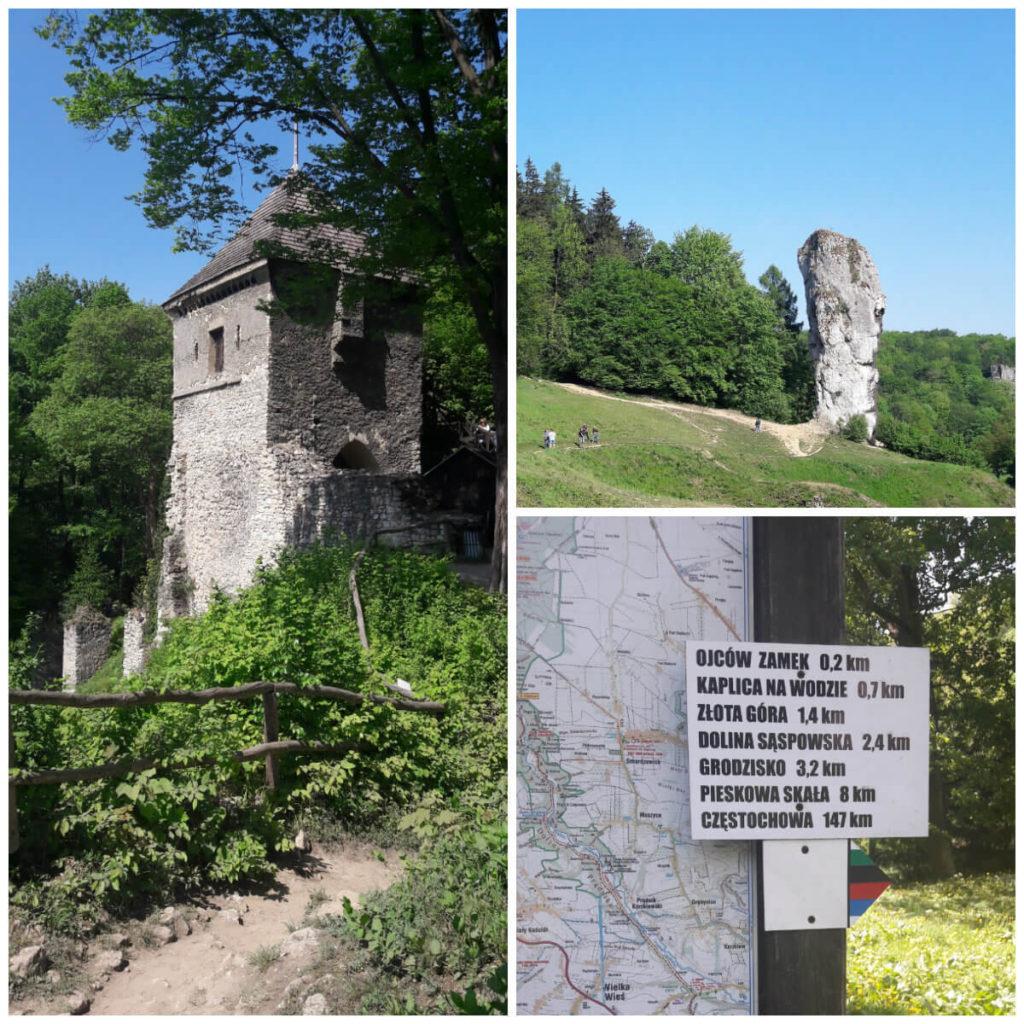 Ojcowski Park Narodowy - collage