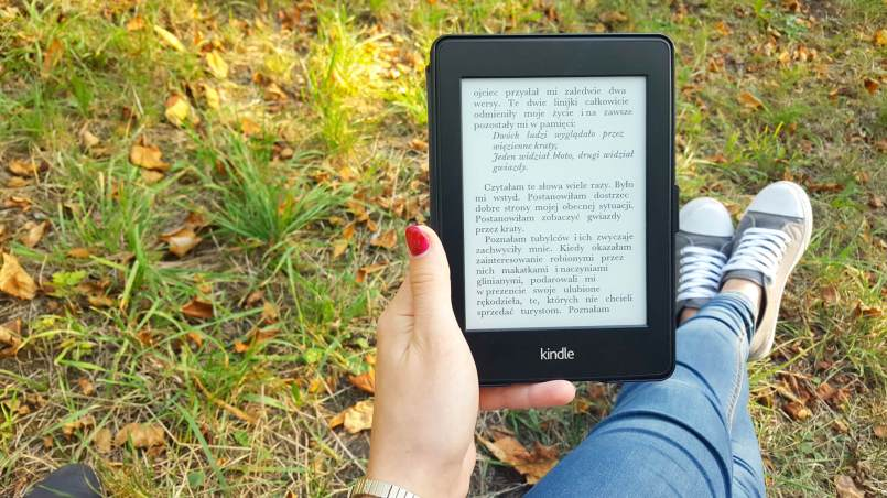 Kindle Paperwhite opinie - pierwsze chwile z czytnikiem ebooków