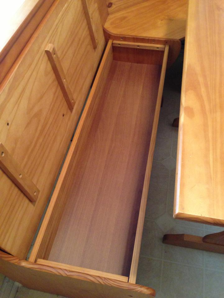 Built In Breakfast Nook Bench Plans PDF Woodworking