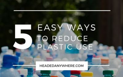 5 Easy Ways to Reduce Plastic Use