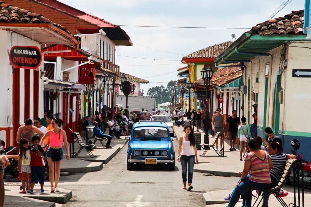 Main street in Solento