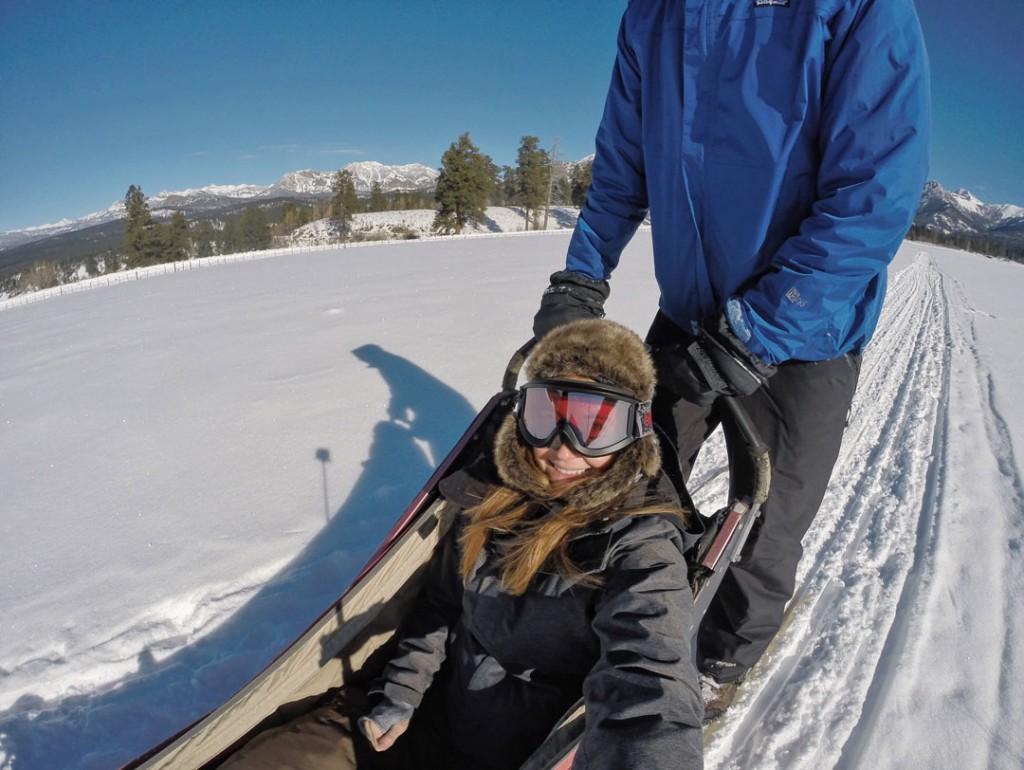 Dog Sledding in Pagosa Springs, Colorado