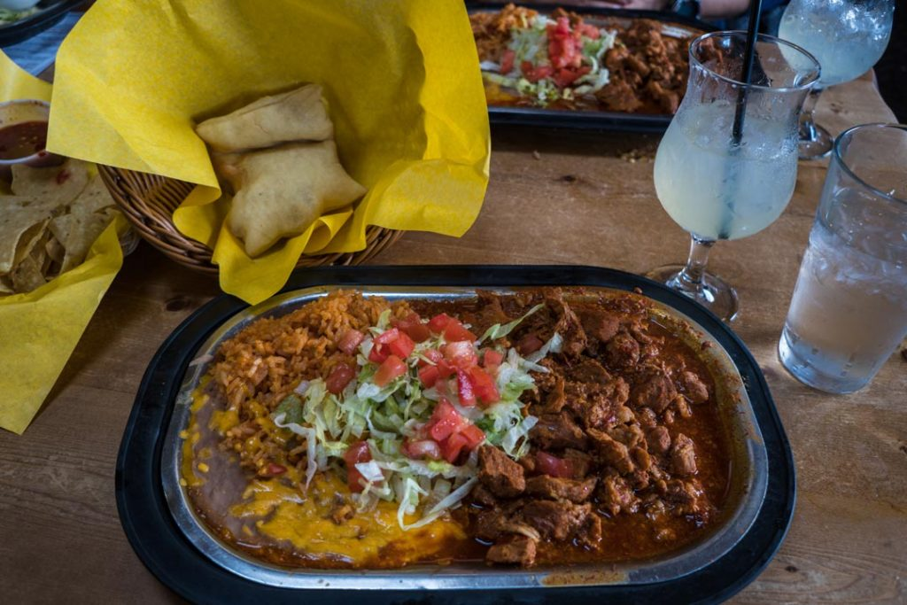 Northern New Mexican Cuisine with Sopapilla