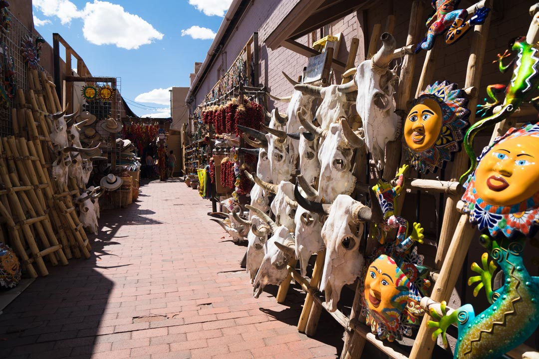 Old Santa Fe Alley Shop Santa Fe New Mexico