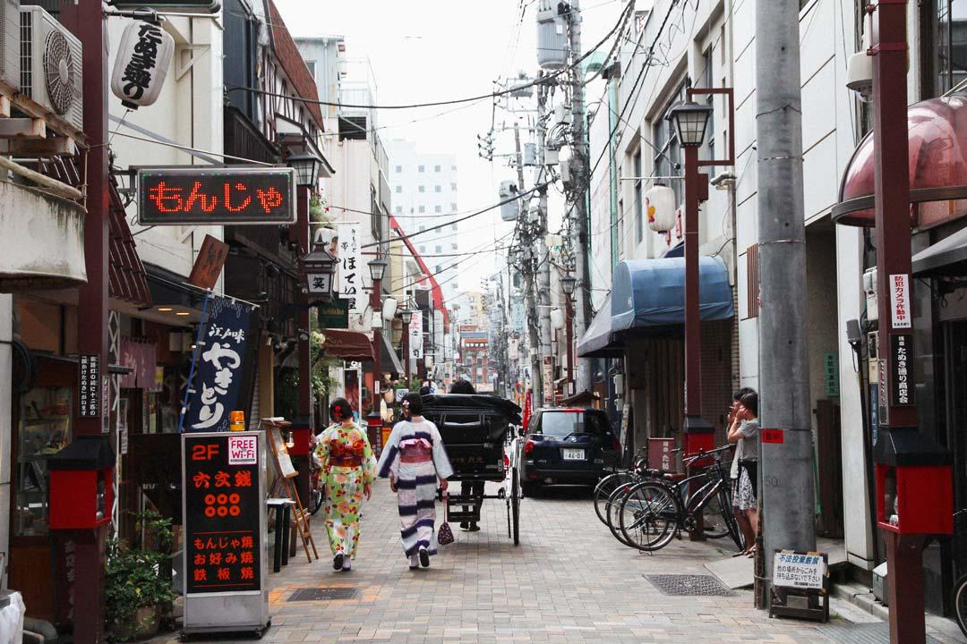 Asakusa Tokyo Street