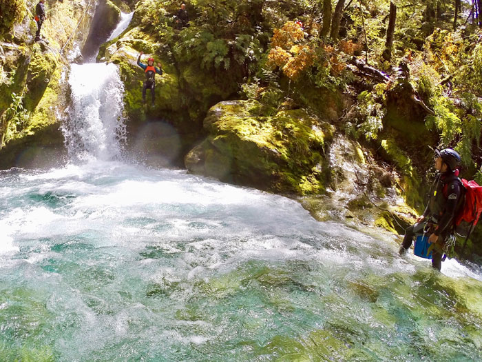 Canyoning Queenstown New Zealand Road trip