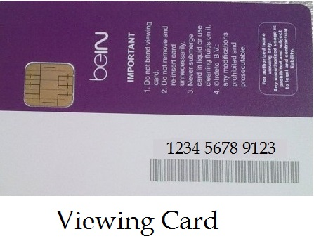 VC CARD NUMBER