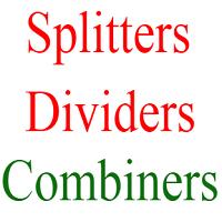 rf splitters combiners dividers