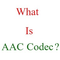 what is aac audio codec