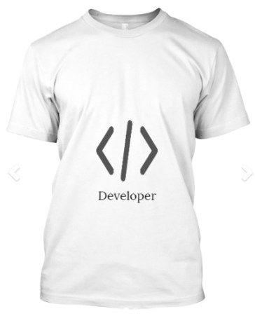 software developer tshirt