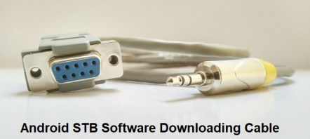 android stb software downloading cable rs232 to stereo