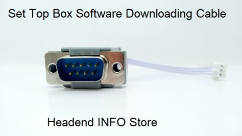 stb software downloading cable rs232