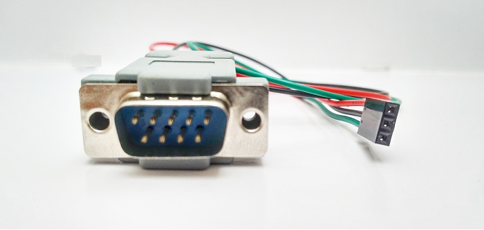 Web rs232 9 pin male to 3 pin rs232