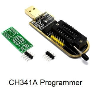 ch341a programmer black for set top box
