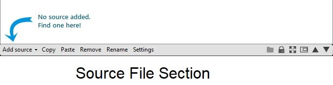 xsplit broadcaster source file