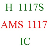 h 1117s ams 1117 power ic