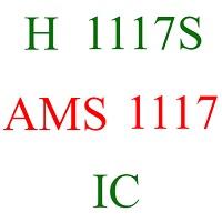 h 1117s ams 1117 power ic