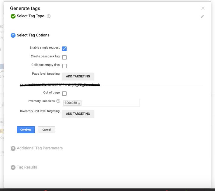 Generating Ad Tag