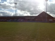 Waterside Park - Thatchams home ground in the sunshine.