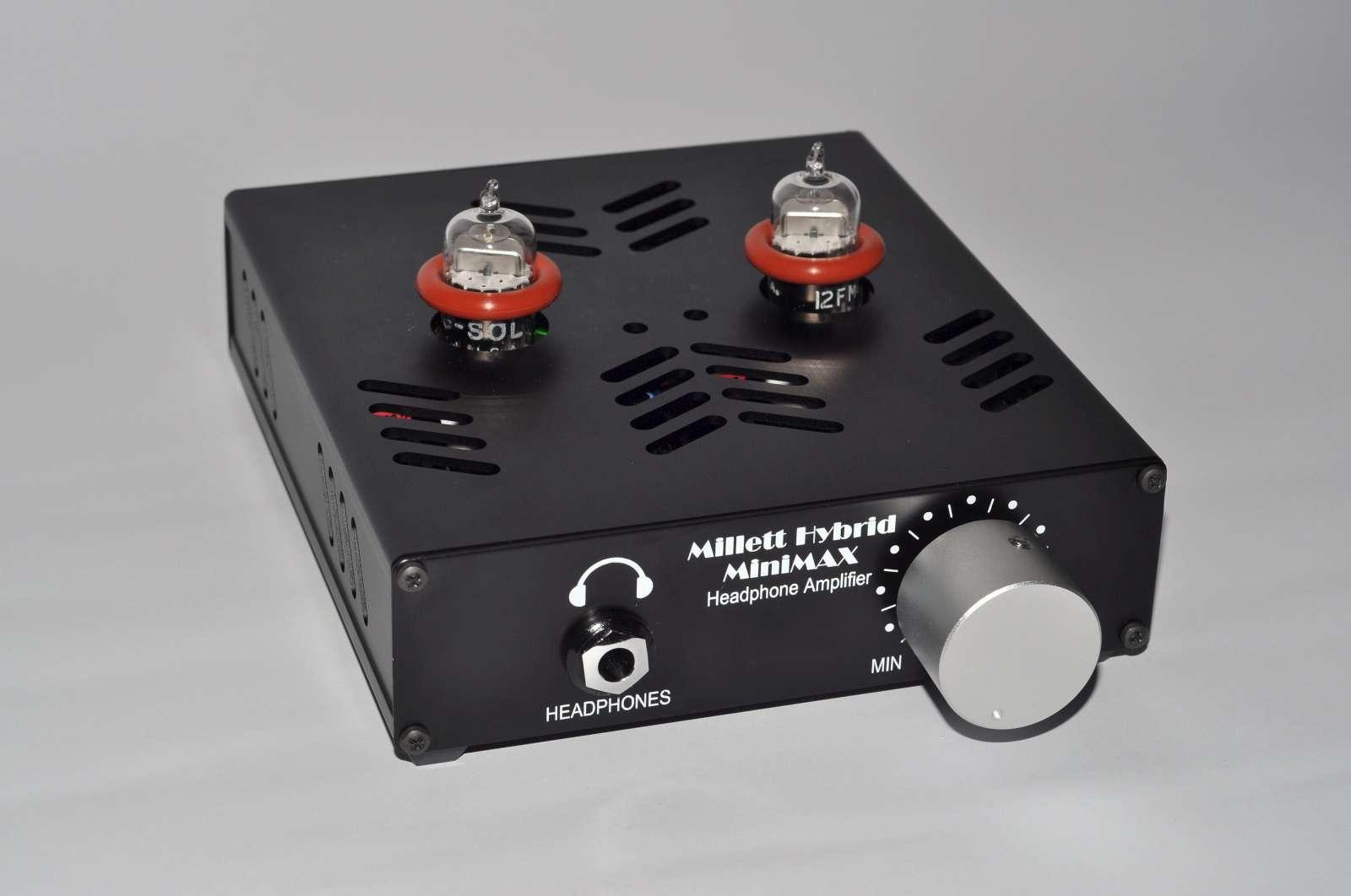 Millett Hybrid MiniMAX Headphone Amplifier  Headfonics