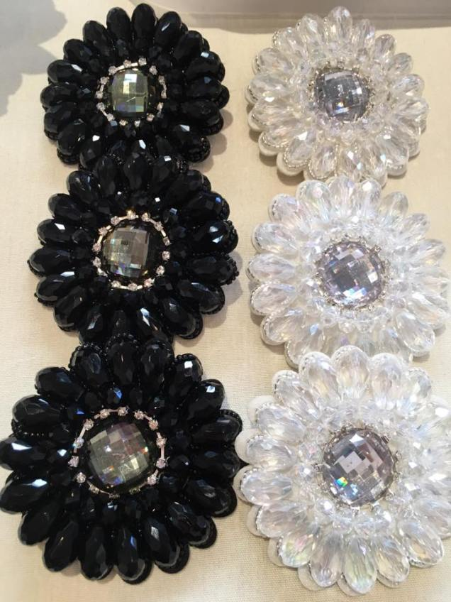 Hairclips_roundcrystals_blackwhite