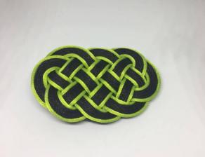 Knot_hairclip_blackgreen