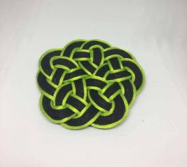 Knot_hairclip_greenblack