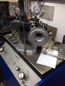Cylinder head flowing Boring-honing