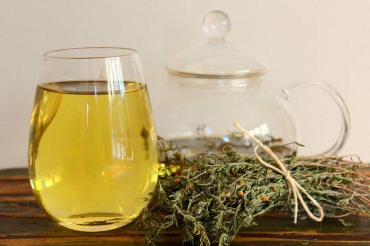 Чай из тимьяна для лечения ран и профилактики заболеваний