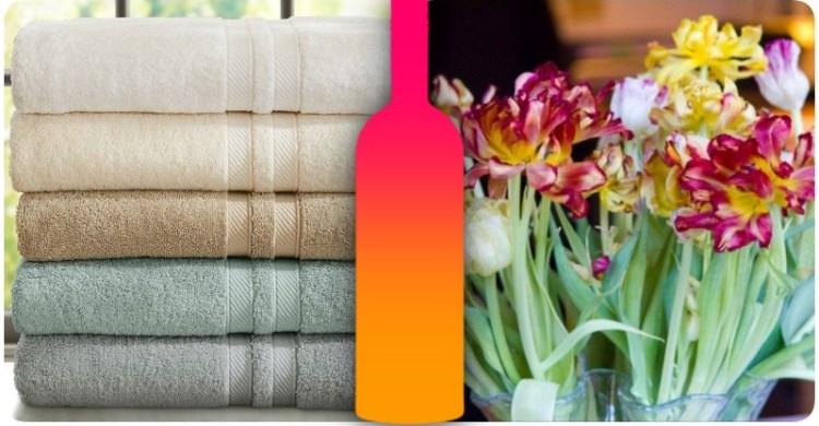 Уберет запах с полотенец и сохранит цветы от увядания: 9 необычных возможностей обычной водки