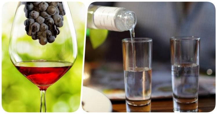 Бокал вина или стопка водки? Вот в чем вопрос!