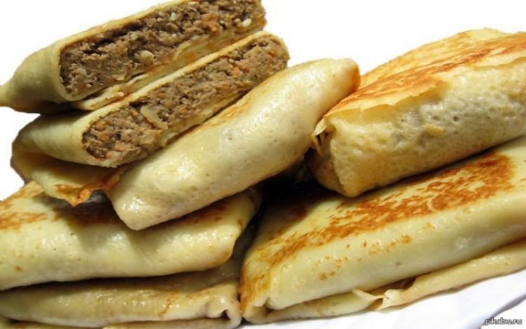 Аппетитные блинчики с печенью: старая добрая классика родом из детства