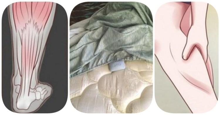 Побороть мучительные ночные судороги в ногах поможет обычное мыло под простыней