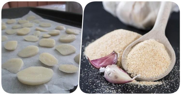 Простая приправа от сотен болезней своими руками: готовим вкусный и полезный чесночный порошок