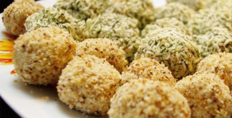 Аппетитные печеные сырные шарики с тунцом удивят всех гостей на новогоднем столе